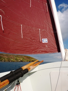 Test sail