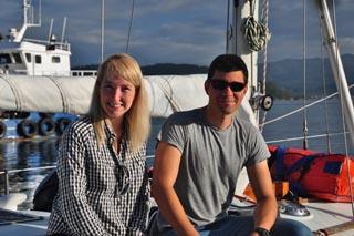 Adriana and partner