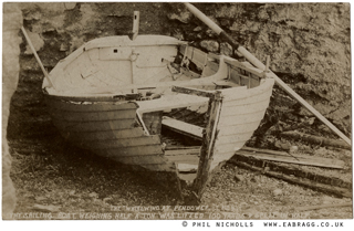 whirlwind , pendower, boat damage 1908 by e a bragg